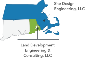 Coverage Map for Site Design Engineering